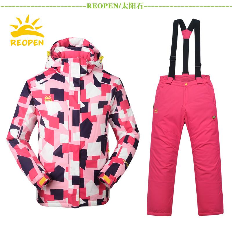 Лыжный брючный костюм Reopen rs1918 секонд хенд киев лыжный костюм
