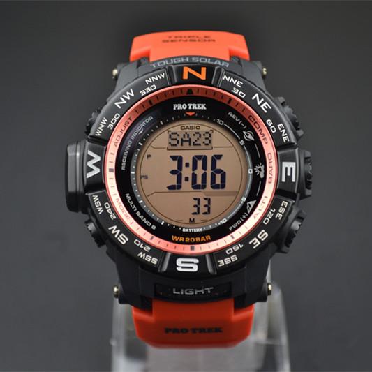 Часы CASIO  PRW-3500Y-4D 4DR кварцевые часы casio sport prw 6000 1e black