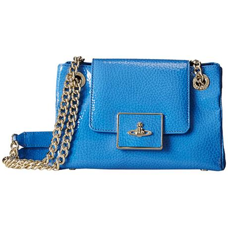 Сумка Vivienne westwood  Double Strap Orb Bag Blue сумка vivienne westwood vivienne westwood vi873bwvbz16