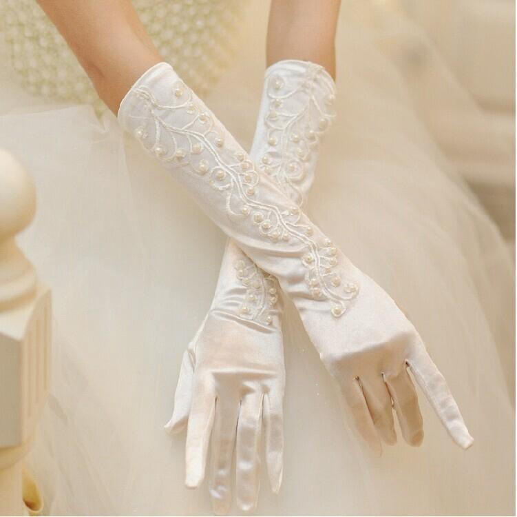Свадебные перчатки   37