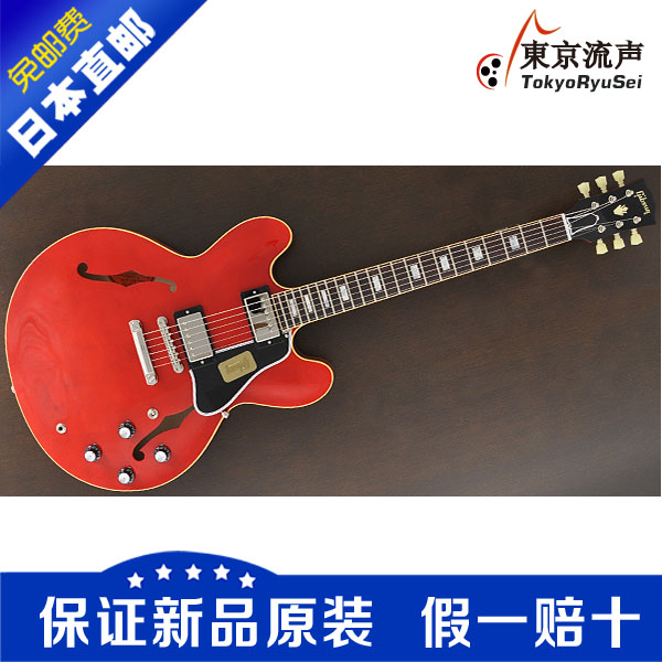 Тюнер Gibson 1963 ES-335 Block Reissue Faded Cherry тюнер gibson 1963 es 335 block reissue faded cherry