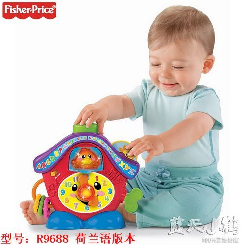 Развивающая игрушка Fisher/price  Fisher Price R9688 fisher price базовый паровозик thomas&friends