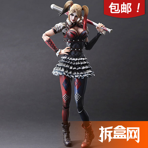 Подвижная модель куклы Play Arts change -Play Arts Harley Quinn arts futang