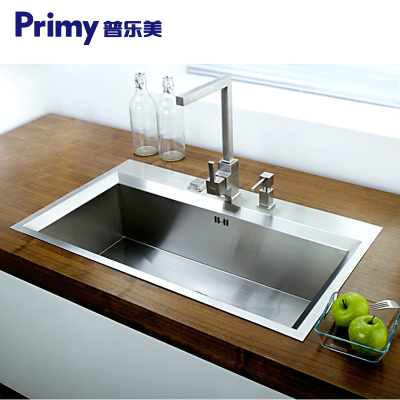 普乐美不锈钢高档手工水槽KB102A