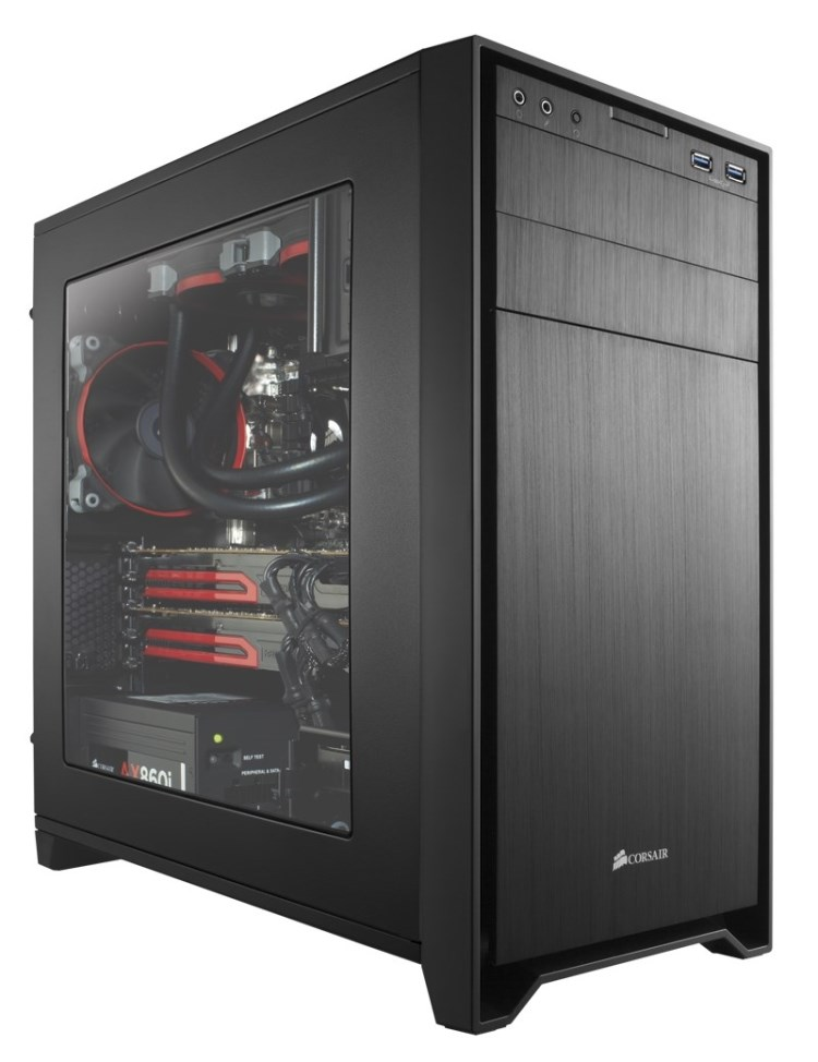 Корпус для ПК Corsair 350D Micro ATX PC корпус corsair obsidian series 350d черный
