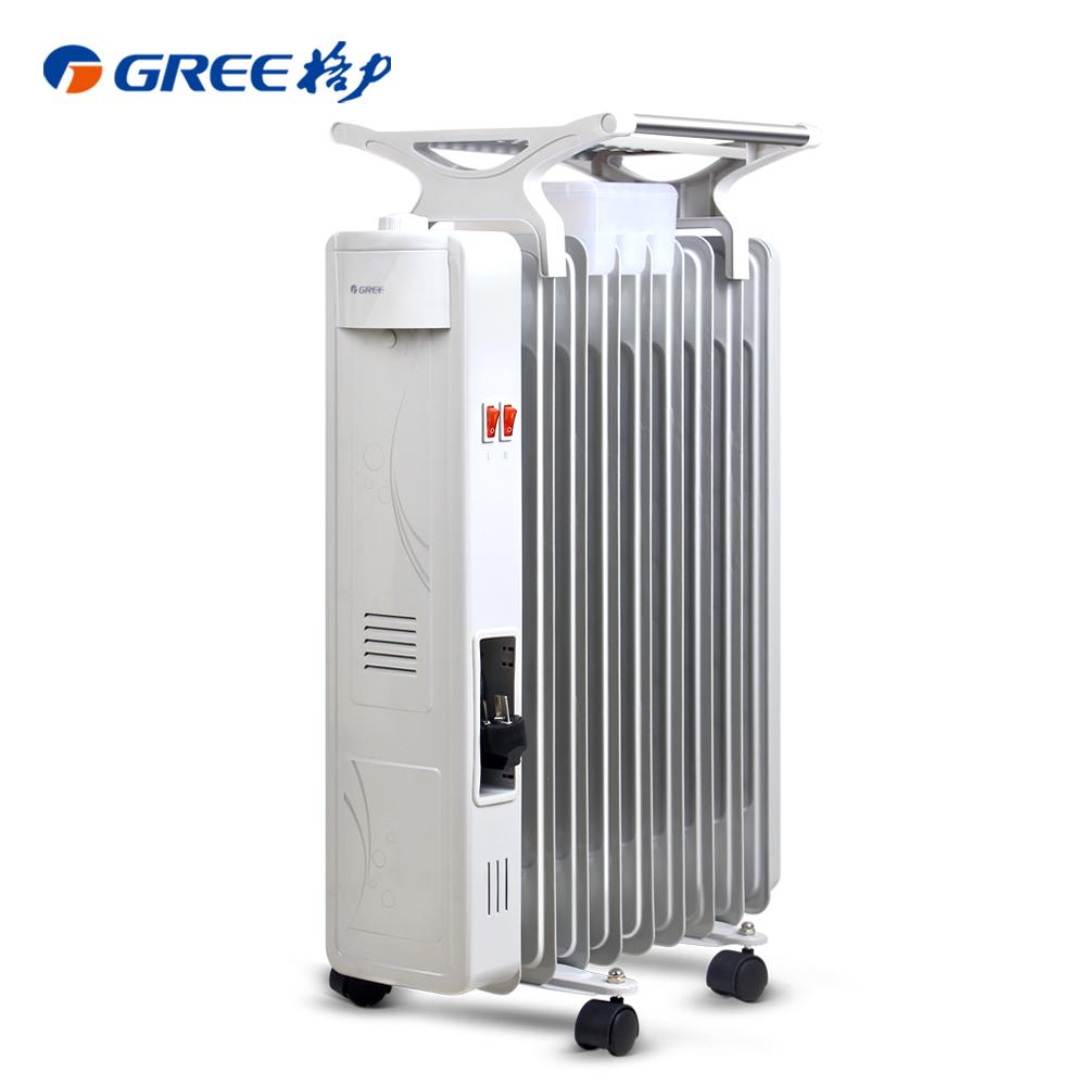格力9片电热油丁速热取暖器