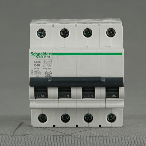 施耐德断路器C65N 4P C40A