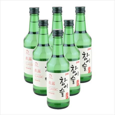 Саке/соджу Jinro 20.1 360ml*6 360ml