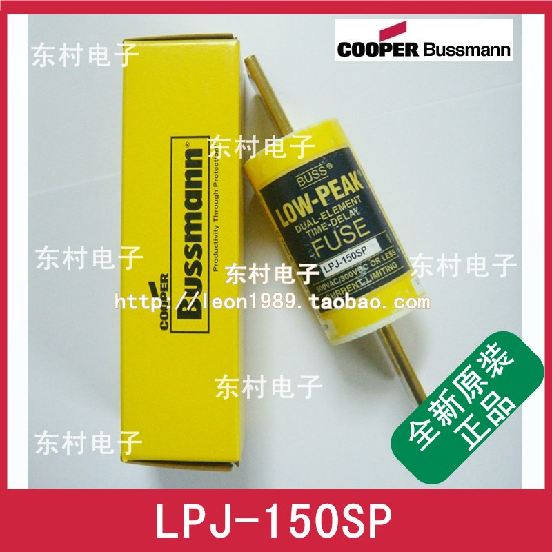 Предохранитель Bussmann LOW-PEAK LPJ-150SP LPJ-175SP 600V [sa]original us bussmann fuse fusetron class frs r 100 600v 100a 3pcs lot