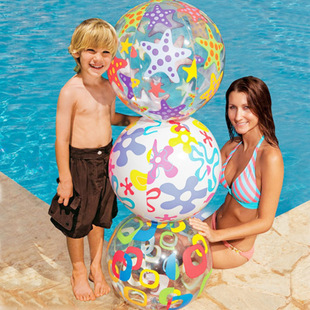 Игрушка для бассейна Intex Beach Ball -59040 51CM лодка intex challenger k1 68305
