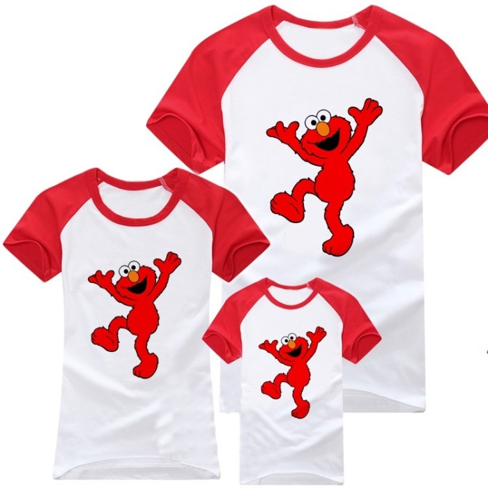 Семейные футболки Creative Arts/good boy Elmo Season Stree Creative Arts-good boy