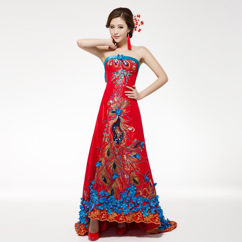 Вечернее платье Ho Man Ting 7317 2014 man ting