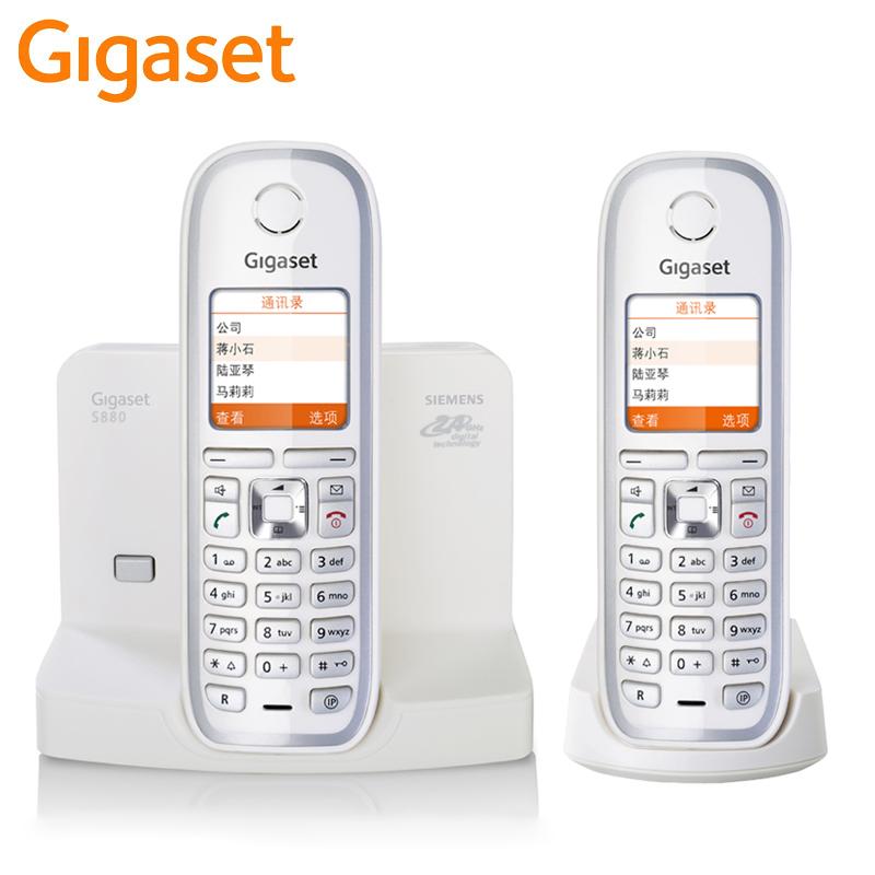 Проводной и DECT-телефон Gigaset s880duo SIEMENS S880 проводной и dect телефон gigaset c810a siemens c810aip