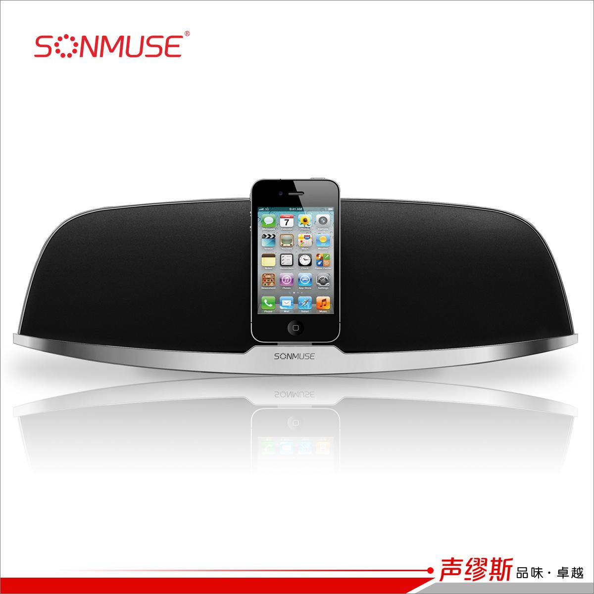 Apple портативная колонка Sonmuse  D6 Iphone Ipod Apple футболка breathe out rose t shirt черный l