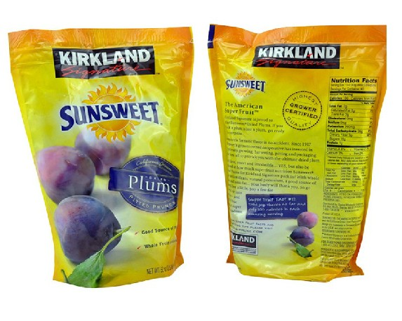 Kirkland  Sunsweet Plums 1590g utensils moxibustion box moxa tank querysystem cauterize wormwood box