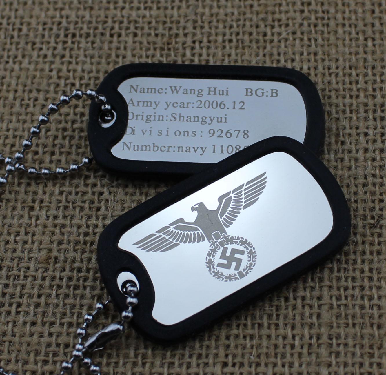Армейский жетон своими руками 69