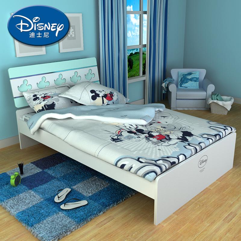 酷漫居迪士尼儿童床 冰雪米奇