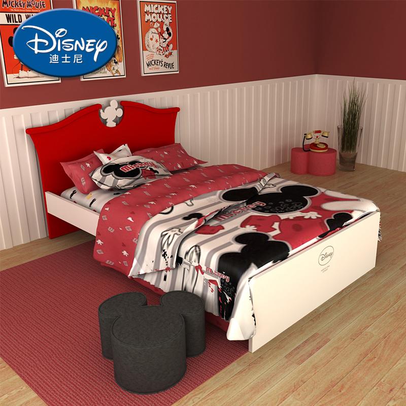 酷漫居迪士尼经典米奇儿童床