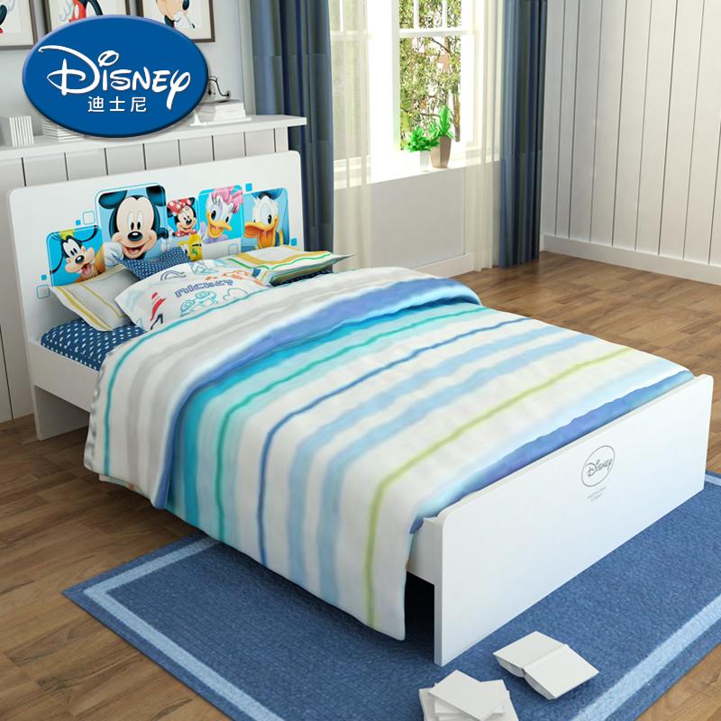 酷漫居迪士尼米奇王子单床