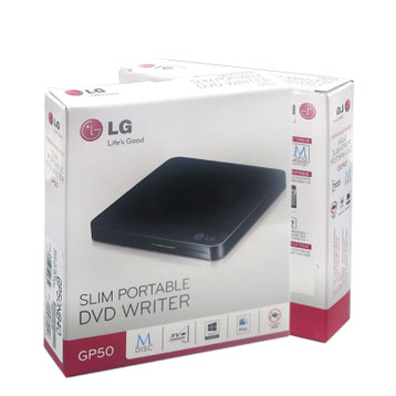 Дисковод CD LG  GP50 USB DVD внешний dvd привод lg bp50nb40 black