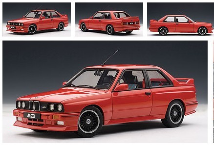 Модель машины Autoart  1:18 BMW E30 M3 EVOLUTION CECOTTO EDITION bmw m3 e30 coupe