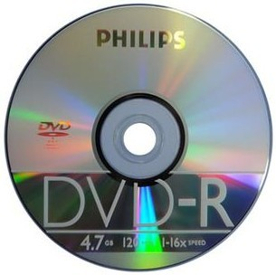Диски CD, DVD Philips  DVD 1.7 DVD-R