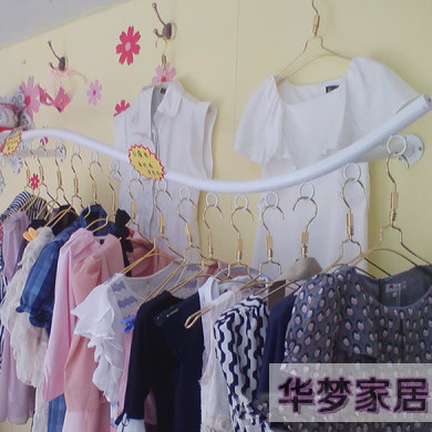 Clothing display racks wall mounted clothes hanger ladies clothing store display racks for hanging clothes rack