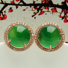 Серьги Jade margin of jewelery ed69
