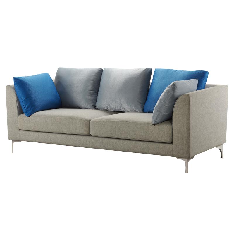 曲美家具三人沙发S23A