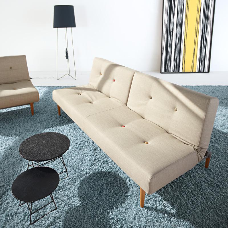 依诺维绅拐角组合折叠沙发床 舒卡
