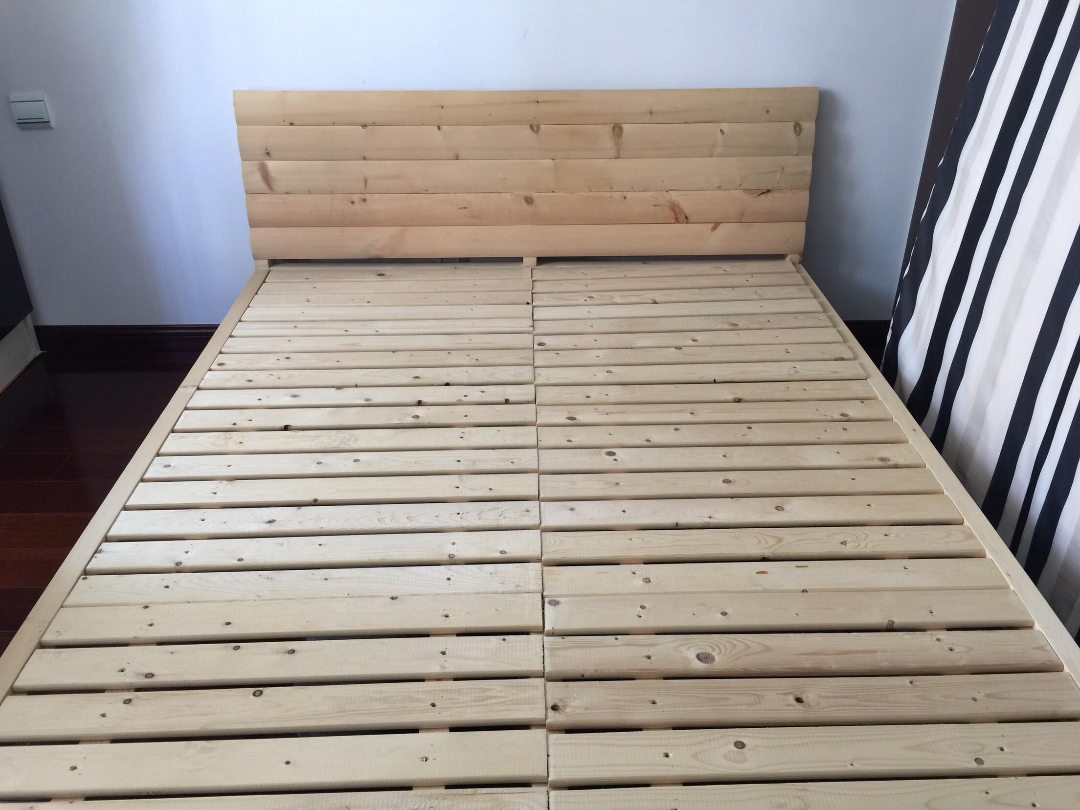 Мебель Новый твердого дерева кровать и матрас для продажи
