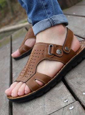 韩版沙滩鞋】_男士新品凉鞋图片
