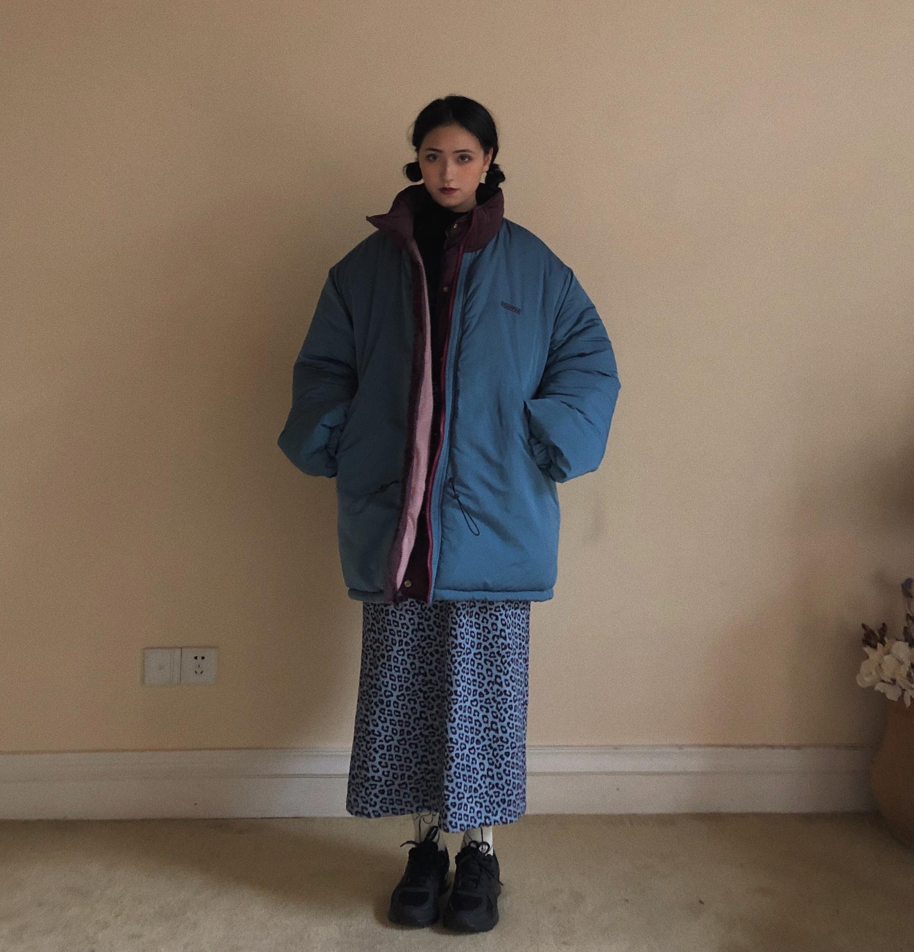 POXFFEE棉衣棉服女冬季外套韩版宽松中长款棉袄2020年新款面包服
