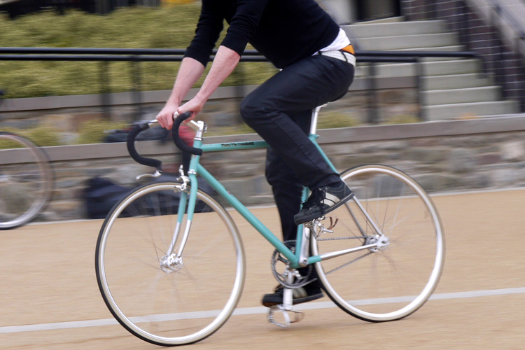 Шоссейный велосипед BIANCHI  -PISTA-VIA CONDOTTI Fixed Gear
