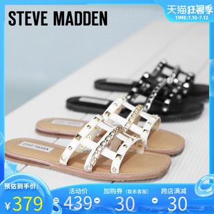 Steve Madden/思美登2020春夏新款拖鞋网格外穿时尚拖鞋 HARP