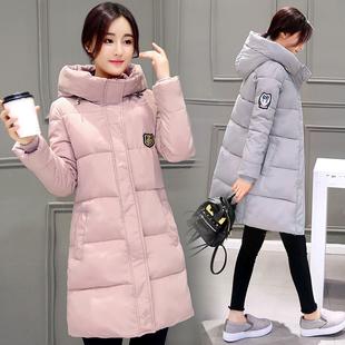2018新款反季女装冬季棉衣女中长款学生加厚韩版羽绒棉服外套冬装