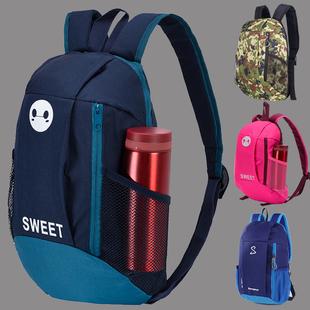 男童儿童旅游背包潮旅行男孩子女孩小学生补课包双肩包小孩印Logo