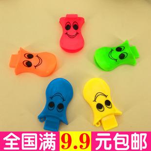 口哨儿童旅游安全口哨鸭舌幼儿园老师儿童玩具塑料口哨裁判哨子