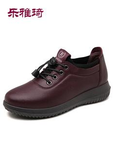 正品乐雅琦秋季新款软底女鞋防滑中老年妈妈鞋休闲运动鞋舒适
