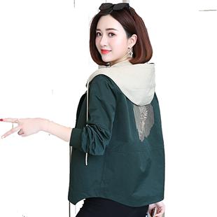 短款风衣2019春秋新款女装宽松显瘦小个子百搭流行大码外套上衣潮