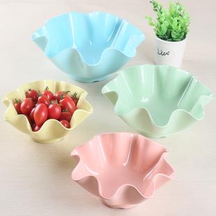 水果盘家用客厅创意塑料欧式简约现代果盘茶几北欧ins零食瓜子盘