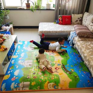 可折叠打地铺睡垫榻榻米泡沫床垫厚懒人垫子双人地垫自动加厚防潮