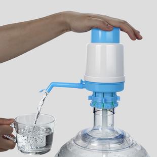 桶装水按压式抽水器矿泉水手动吸出水器家用饮水机大桶自动抽水泵