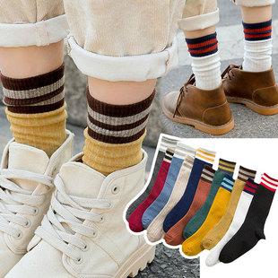 【超值5双】网红街头长筒堆堆袜