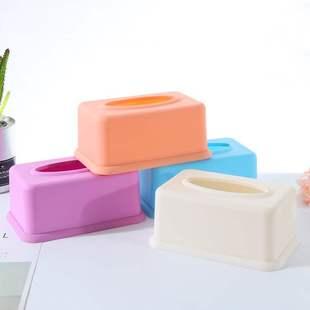 定制塑料广告饭店盒礼品批發订做纸巾抽纸盒印刷定做纸盒印字logo