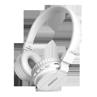 5.0蓝牙头戴式耳机无线运动跑步音乐游戏魅族一加小米OPPO华为VIVO三星苹果手机手机电脑男女生韩版可爱潮