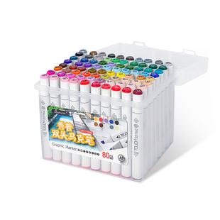 秀普正品Touch7代马克笔套装学生绘画笔双头马克笔彩色笔油性笔24色40色60色80色