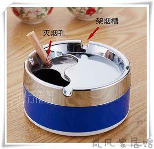 宿舍神器 上铺 烟灰缸带盖烟灰缸 不锈钢烟车里烟灰缸马桶烟灰缸
