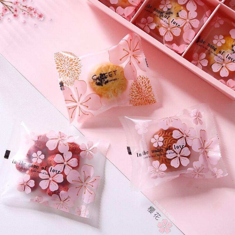 纯手工制作加厚磨砂机封袋中秋月饼包装雪花酥蛋黄酥牛轧饼饼干袋