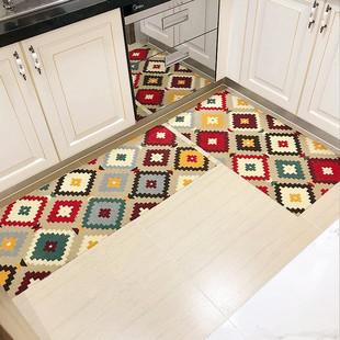 厨房地垫门口浴室进门防滑防油吸水家用长条卧室客厅门垫脚垫地毯